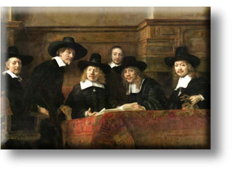 Kühlschrankmagnet, Die Meister des Stahls, Rembrandts