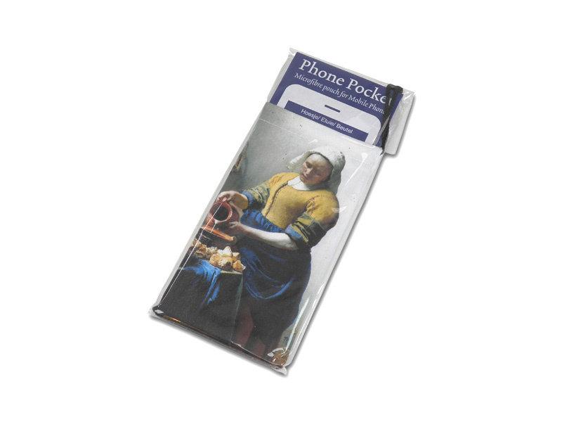 Pochette microfibre, La laitière, Vermeer