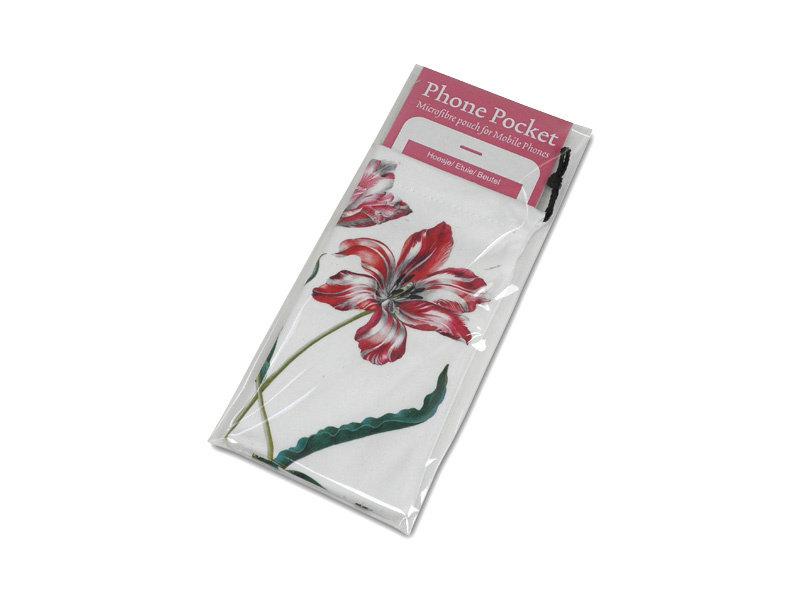 Microfiber Telefontasche, Drei Tulpen, Merian