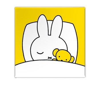 Aimant de réfrigérateur, Miffy dort