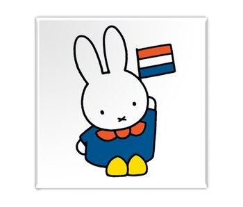 Aimant de réfrigérateur, Miffy en Hollande