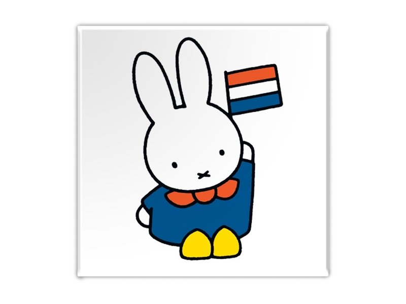 Fridge magnet, Miffy in Holland