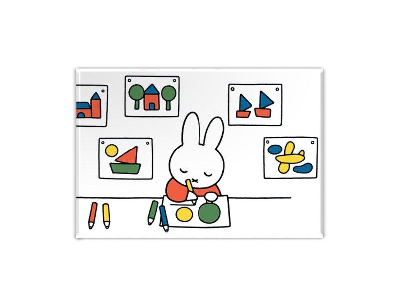 Kühlschrankmagnet, zeichnet Miffy