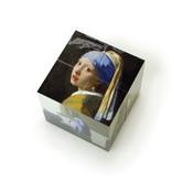 Klappwürfel, Johannes Vermeer