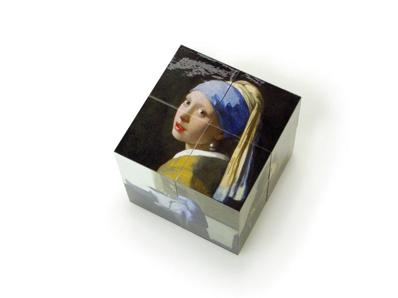 Cube magique,  Vermeer