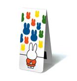 Magnetisches Lesezeichen, Miffy mit Kunst