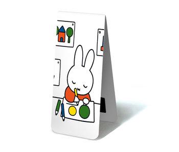 Marque-page magnétique, Miffy dessine