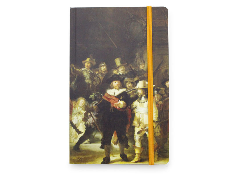Softcover-Notizbuch, De Nachtwacht, Rembrandt