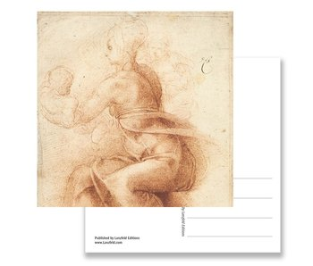 Postcard, Mother and Child with St John, Michelangelo