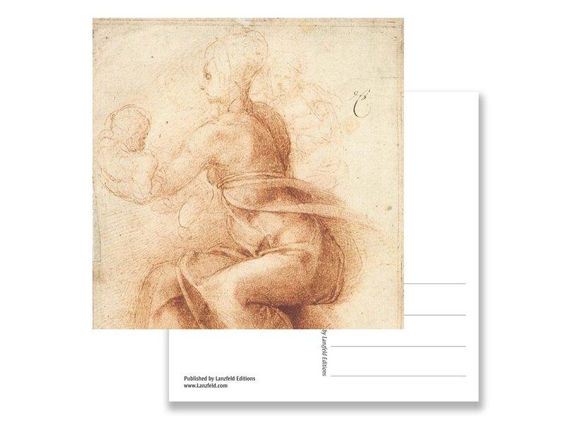 Postal, Madre e hijo, Miguel Ángel