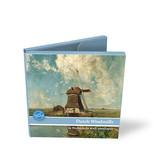 Kartenmappe, Square, holländische Windmühlen