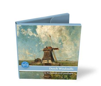 Kaartenmapje, Vierkant, Hollandse molens, Gabriel