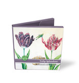 Card Wallet, Square, Tulip Splendour