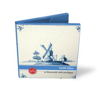 Kartenordner, Quadrat, Delfter blaue fliesen