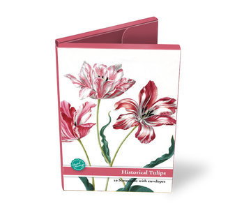Card Wallet, Large, historicalal Tulips