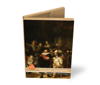 Kartenordner, groß, Rembrandts Meisterwerke