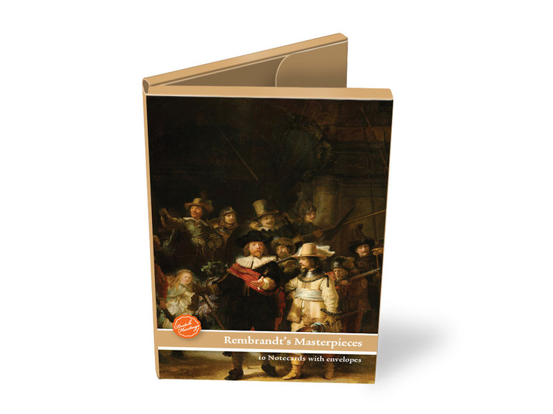 Card Wallet,  Large, Rembrandt's Masterpieces