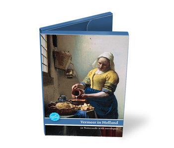Cartera de tarjeta, tema Johannes Vermeer