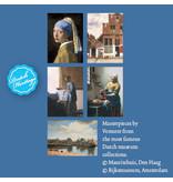 Kaartenmapje, Thema Johannes Vermeer