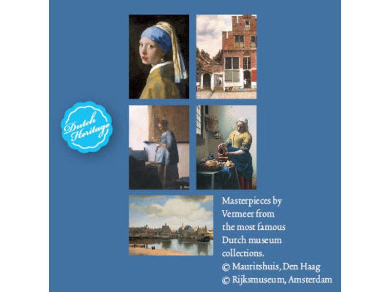 Card Wallet,  Large, Vermeer in Holland