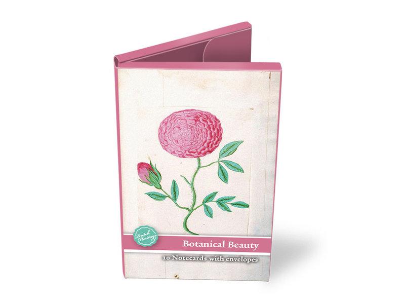 Kartenmappe,  Botanische Schönheit