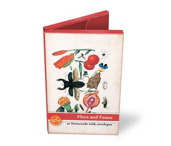 Kaartenmapje, klein,  Flora en Fauna