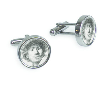 Cufflinks, Curious Face, Rembrandt