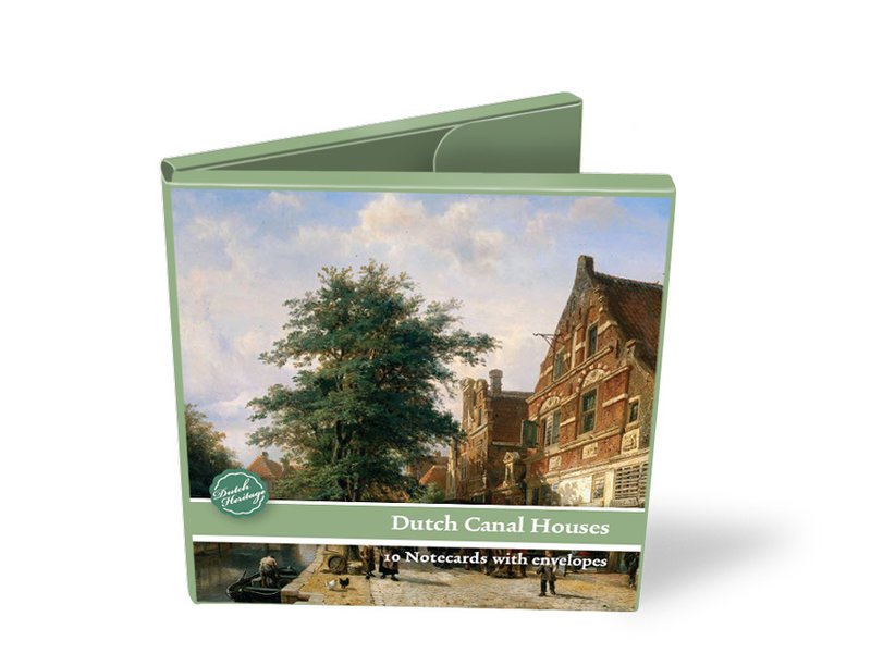 Card Wallet, Square, Dutch canal houses