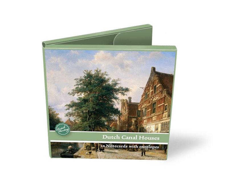 Kartenmappe, Platz, holländische Kanalhäuser