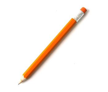 Stylo à bille en bois, orange