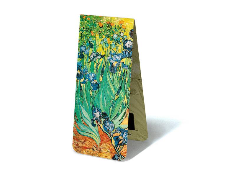 Magnetic Bookmark, Irises, Van Gogh