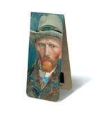 Magnetisches Lesezeichen, Van Gogh, Selbstporträt mit Hut