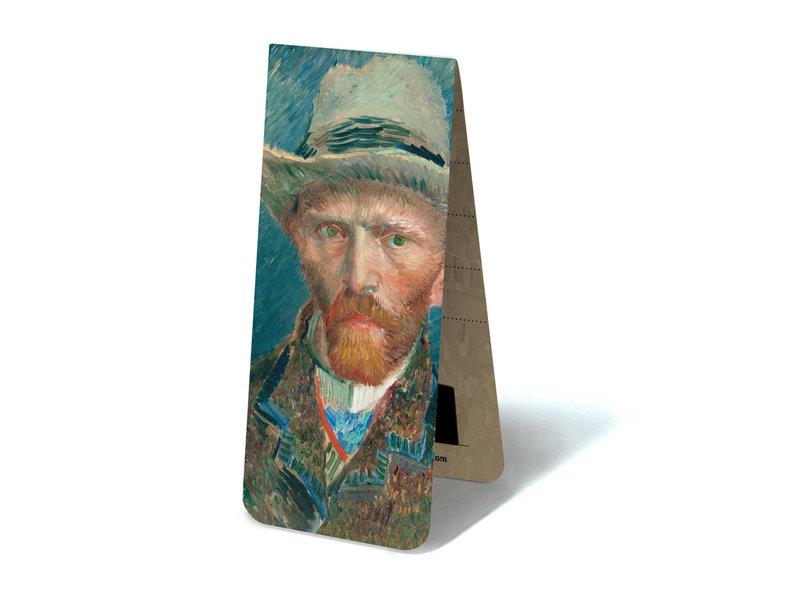 Magnetische Boekenlegger, Van Gogh, Zelfportret met hoed