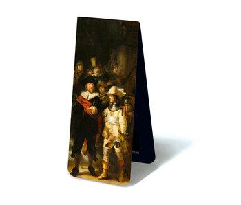 Marque-page magnétique, Rembrandt, Veille de nuit