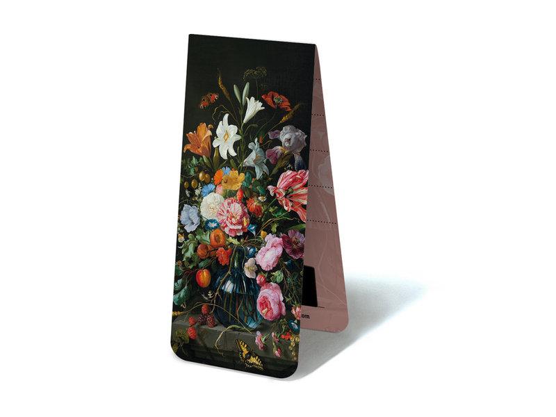 Marque-page magnétique, Nature morte aux fleurs, De Heem