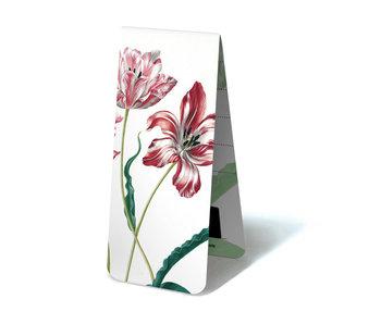 Marque-page magnétique, trois tulipes, Maria Sibylla Merian