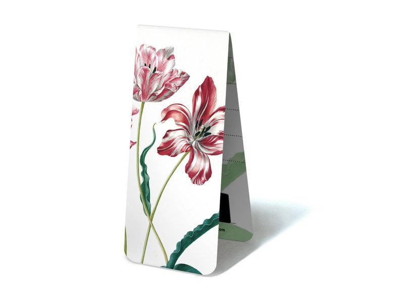 Magnetisches Lesezeichen, drei Tulpen, M.S. Merian
