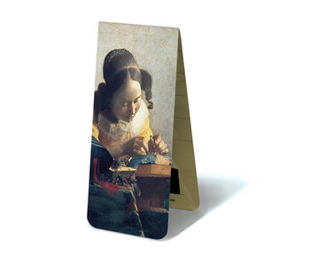 Magnetic Bookmark, The Lacemaker, J. Vermeer