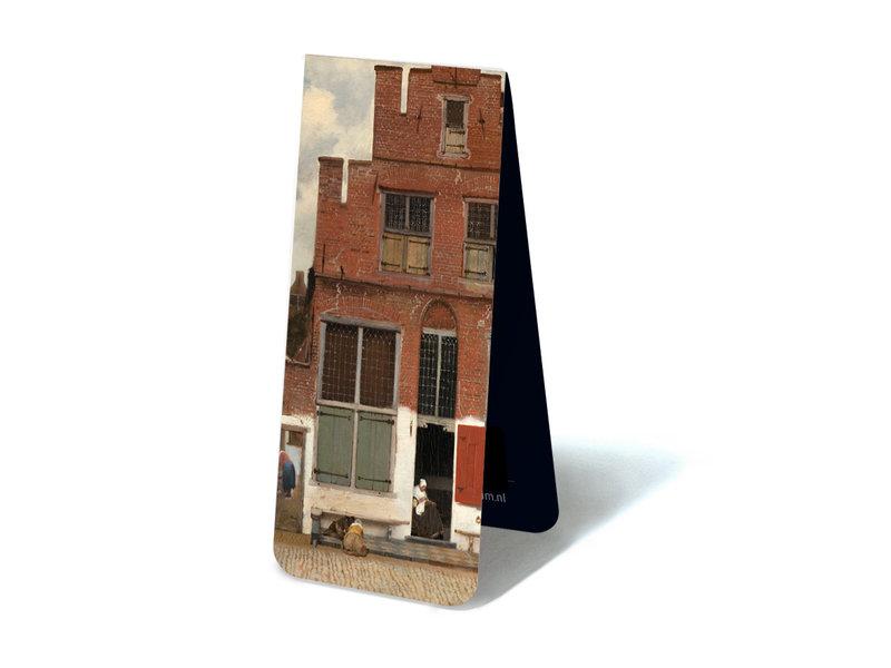 Magnetische boekenlegger ,Straatje van Vermeer