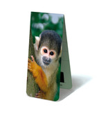 Magnetic Bookmark, Nosy Squirrel Monkey