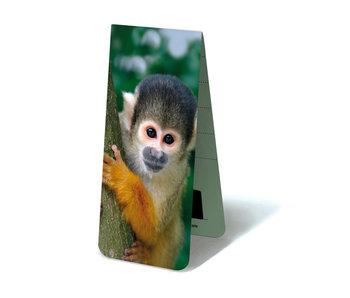 Marque-page magnétique, singe écureuil