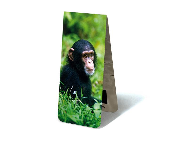 Marque-page magnétique, bébé chimpanzé