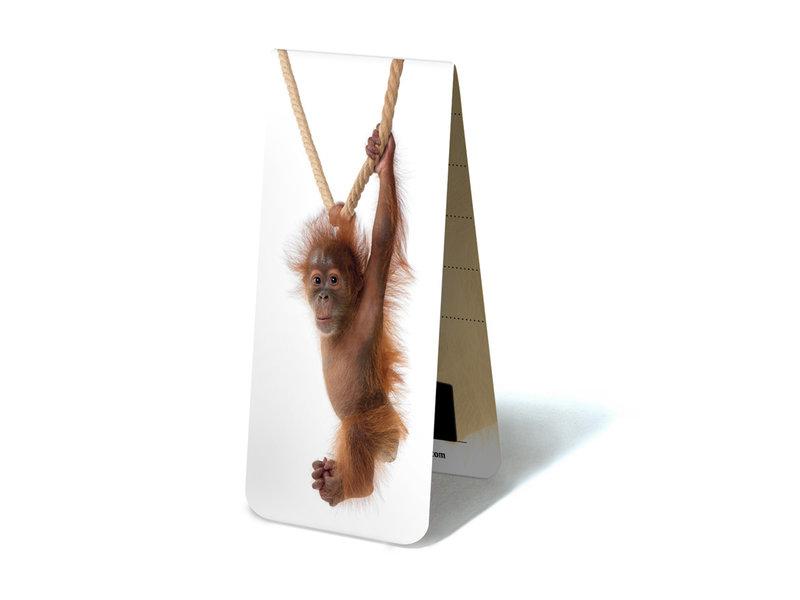 Magnetische Boekenlegger, Baby Orang-oetan