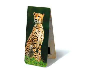 Magnetic Bookmark, Cheetah