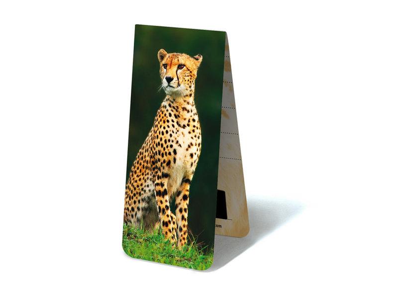 Magnetic Bookmark, Cheetah