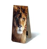 Marque-page magnétique, tête de lion