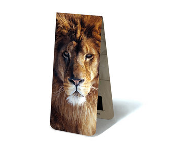 Magnetic Bookmark, Lion Head