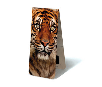 Magnetic Bookmark, Tiger Head