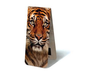 Marque-page magnétique, tête de tigre