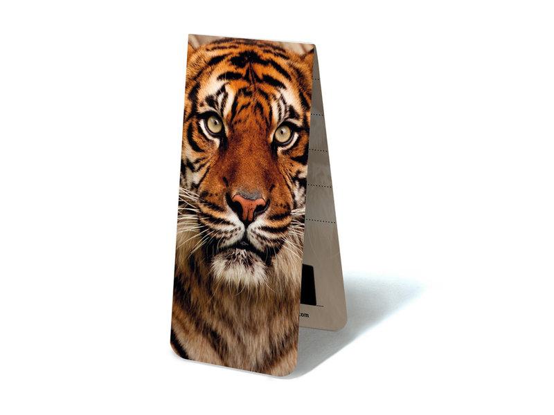 Magnetic Bookmark, Tiger Head